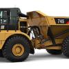 Articulated dump truck Cat 745