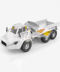 articulated dump truck scales